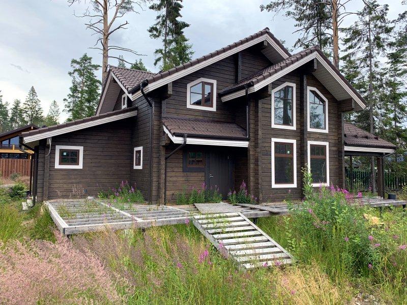 Дом на участке №84