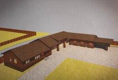 Дом на участке №245